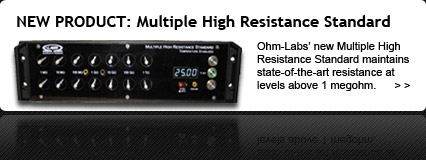 Multiple High Resistance Standard